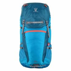 Rhinox 133 Mountaineering Bag (Sea Blue/Tangerine)