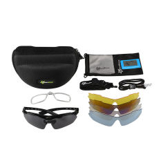 RockBros Cycling Outdoor Polarized Glasses Sunglasses Goggles 5 Lenses
