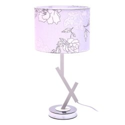 Round Leaf Table Lampshade (White)