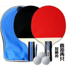 The cheapest price Short hand Series Table Tennis Rackets Set /Ping ...