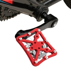 Single Road Bike Universal Clipless To Pedals Platform Adapter For Bike Mtb, Size: Small(red) - Intl By Addfun.