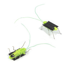 Solar Power Energy Crazy Grasshopper Cricket Kit Toy - Intl By Welcomehome.