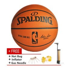 2e7113db39 Spalding Basketball Professional Size 7 Indoor Outdoor PU Leather - intl