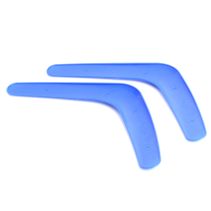 Sports V-Style Outdoor Flying Boomerang - Blue (2 Pcs) - Intl By Fan Cheng.