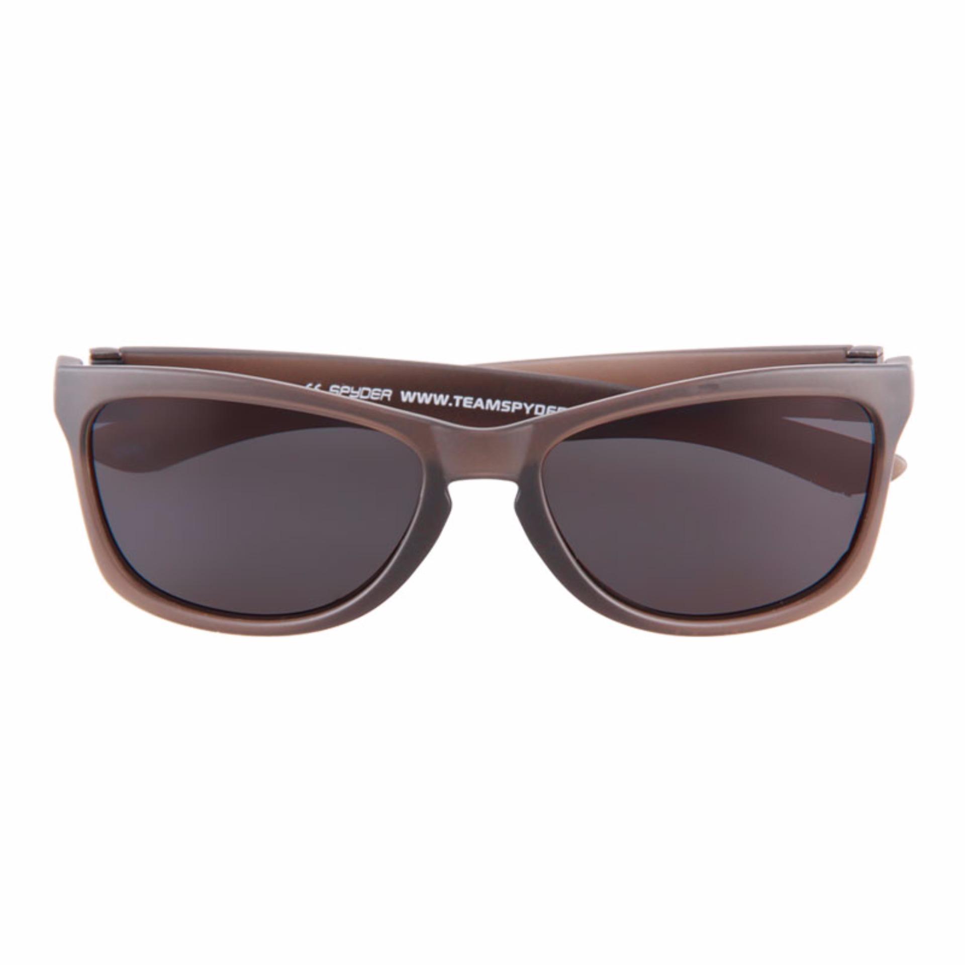 4b5fb258ee Spyder Lifestyle Eyewear Nixon 2 9S010 PZ (Matte Crystal Brown Frame Smoke  Polarized Lenses