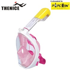 Thenice M2096g Full-Face Easybreath Snorkeling Mask With Camera Holder Size S/m By Popcorn Sport & Outdoor.