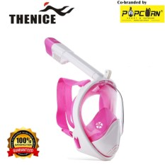 Thenice M2098g Full-Face Snorkeling Ninja Mask With Camera Holder Size L/xl By Popcorn Sport & Outdoor.