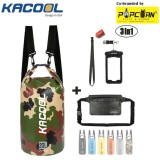 USA KACOOL Portable & Outdoor 20L Waterproof Dry Bag Set with Free Water Proof Phone Case and Waist Bag image on snachetto.com