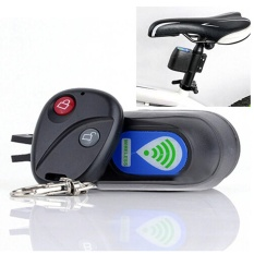 Wireless Alarm Lock Bicycle Bike Security System With Remote Control Anti- Theft - intl