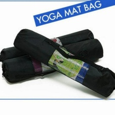 Yoga Mat Bag - Black By Sporterias Goods.