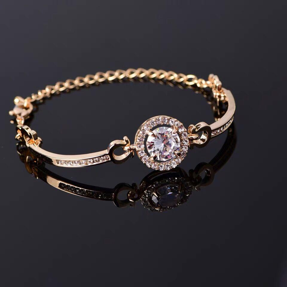 3501770536 [Mid-Year Festival] Omiga Korean New Fashion women elegant bracelet 5A-level