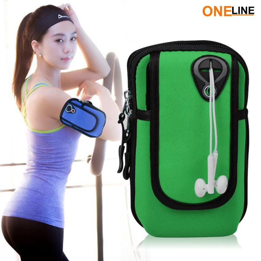 f6d7e9932f70 Oneline RB-02 Running Bag Sport Arm Bag For Phone Arm Band Adjustable  Waterproof Nylon