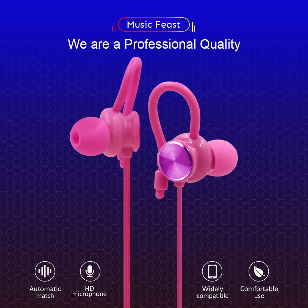 Bavin P11 High Quality Sounds Headset With Anti Fall Design Earphones By Bavin Official Store