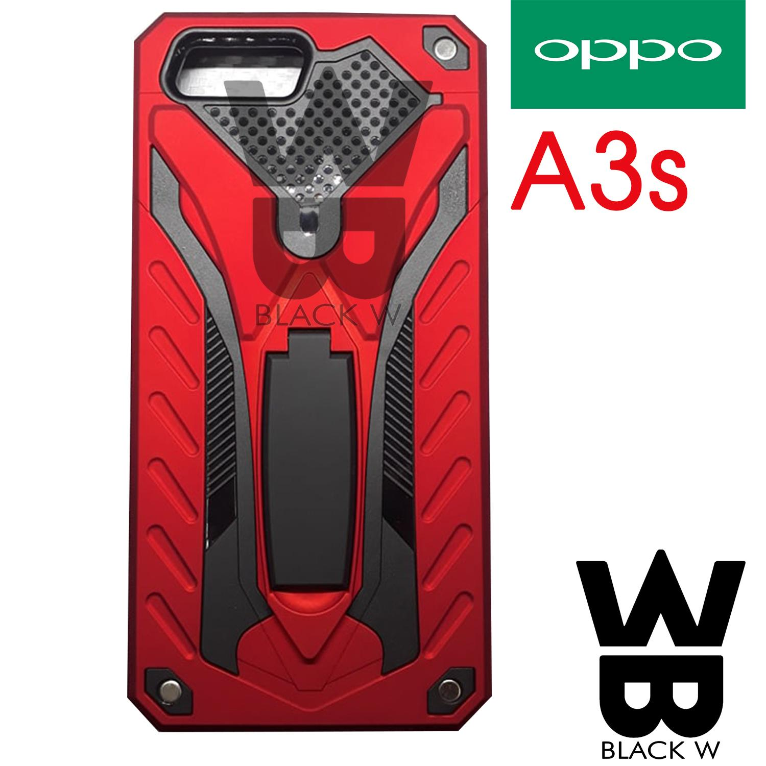 OPPO A3S Robot Armor Case with Stand Shockproof Case