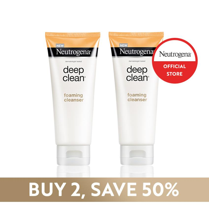[LAZADA EXCLUSIVE] Buy 1 Take 1 Neutrogena Deep Clean Foaming Cleanser 100g