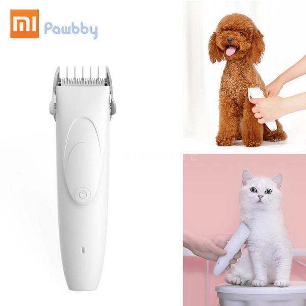 Original XIAOMI YOUPIN Pawbby Dog CAT Hair Trimmers Professional pet grooming Electrical clippers Pets Hair Cut Machine Rechargeable Safety