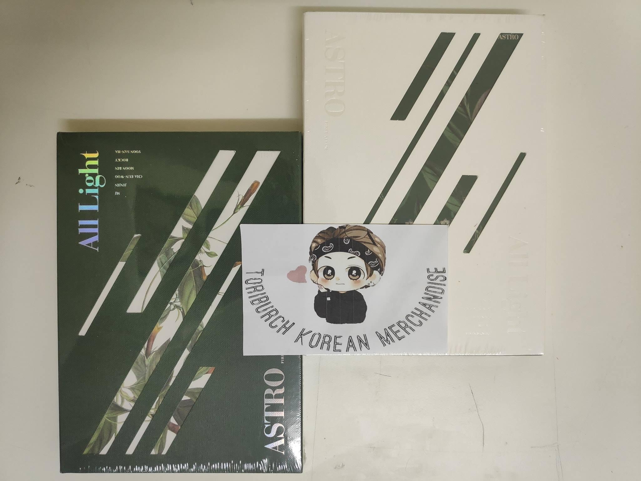 Astro - Vol.1 [all Light] By Toriburch Korean Merchandise 1.