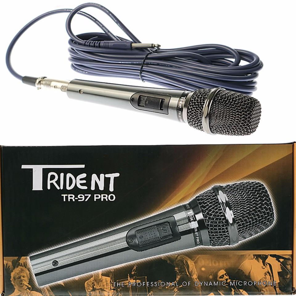 Trident Philippines Price List Microphones Mic Stands Dynamic Microphone Wiring Diagram Wired Tr 97 Pro