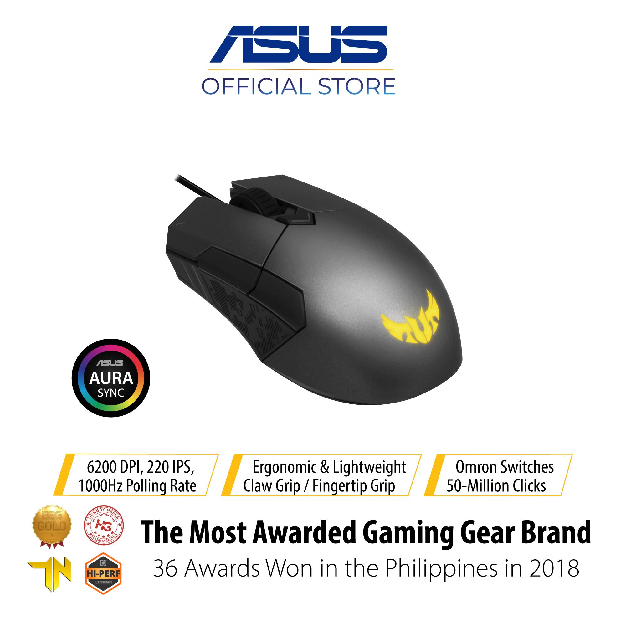 09f43dce326 ASUS TUF Gaming M5 Optical USB RGB Gaming Mouse Featuring A 6200 DPI  Optical Sensor,