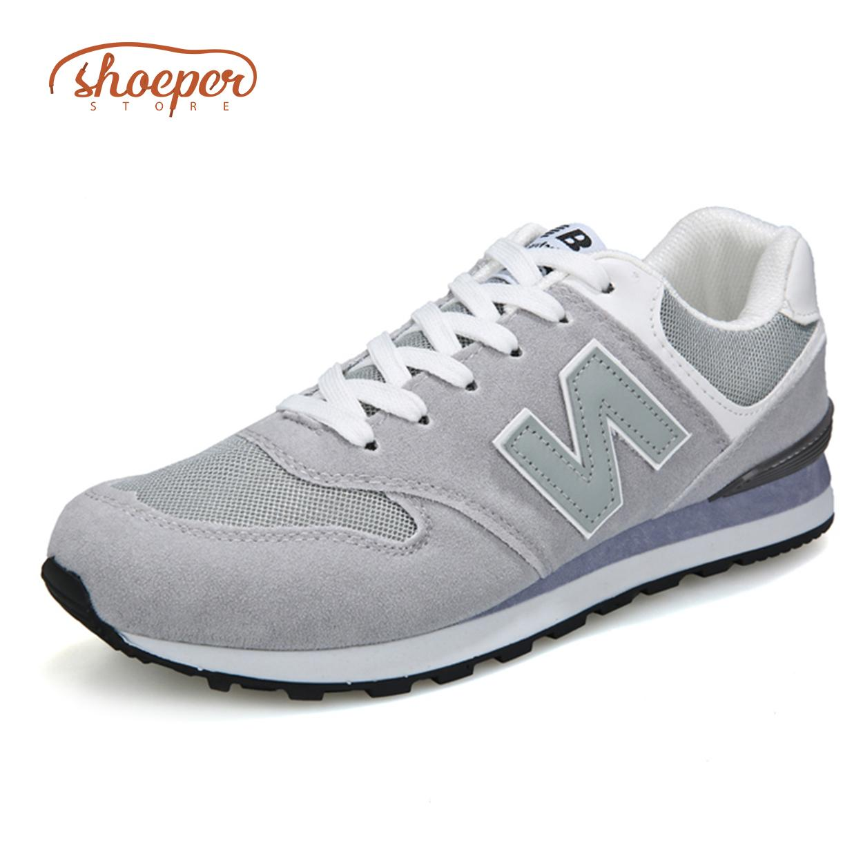 19e997a2a7ee6 ShoePer RPS-1 Sports Sneaker Shoes for Men Jogging Walking Lace-up Anti-