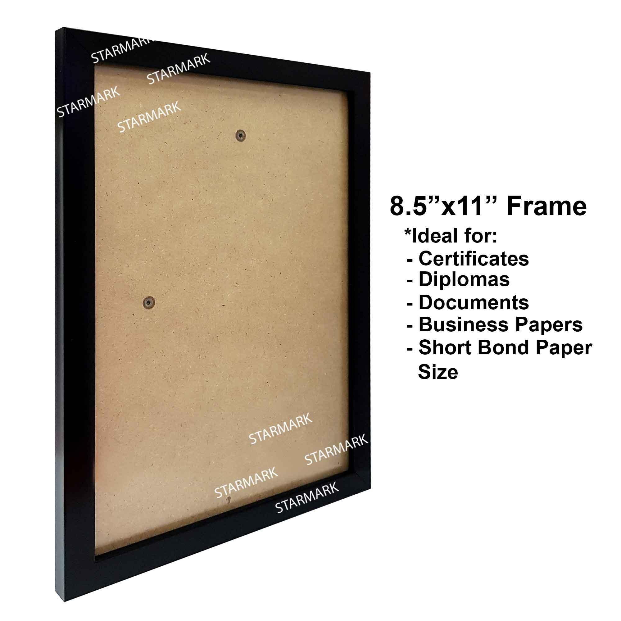 What size is a4 picture frame in inches