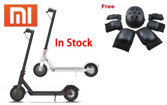 Xiaomi M365 Electric Scooter with free protection gear
