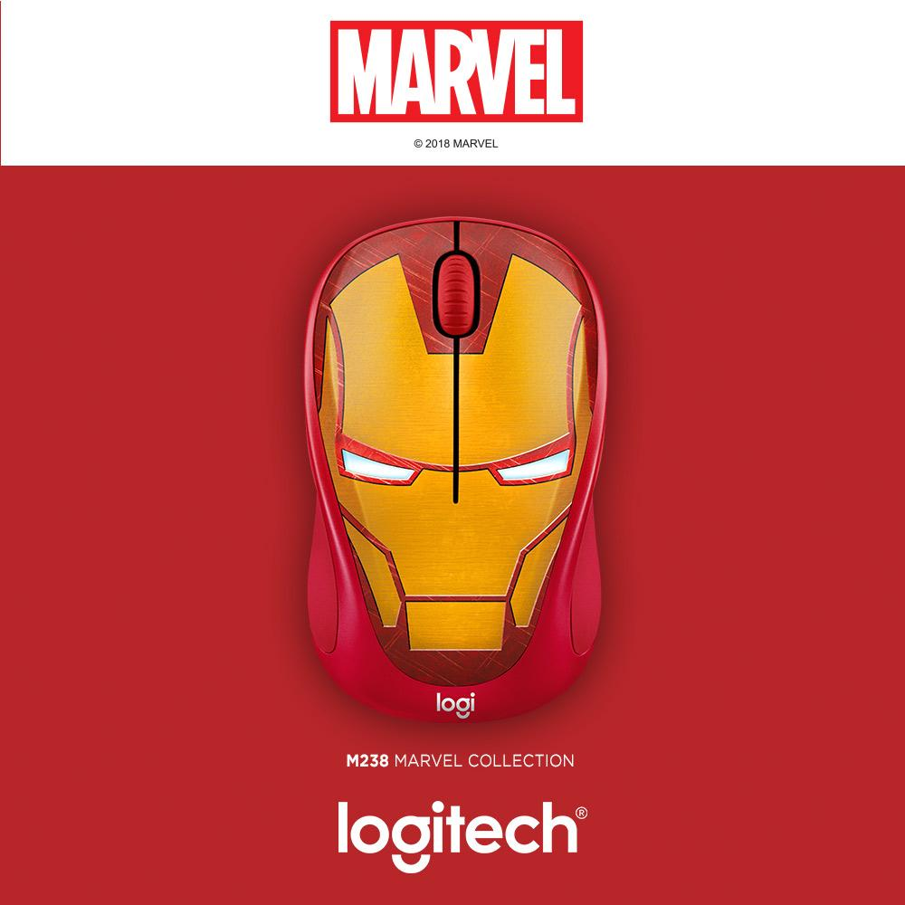 Logitech M238 Iron Man Marvel Collection Wireless Mouse