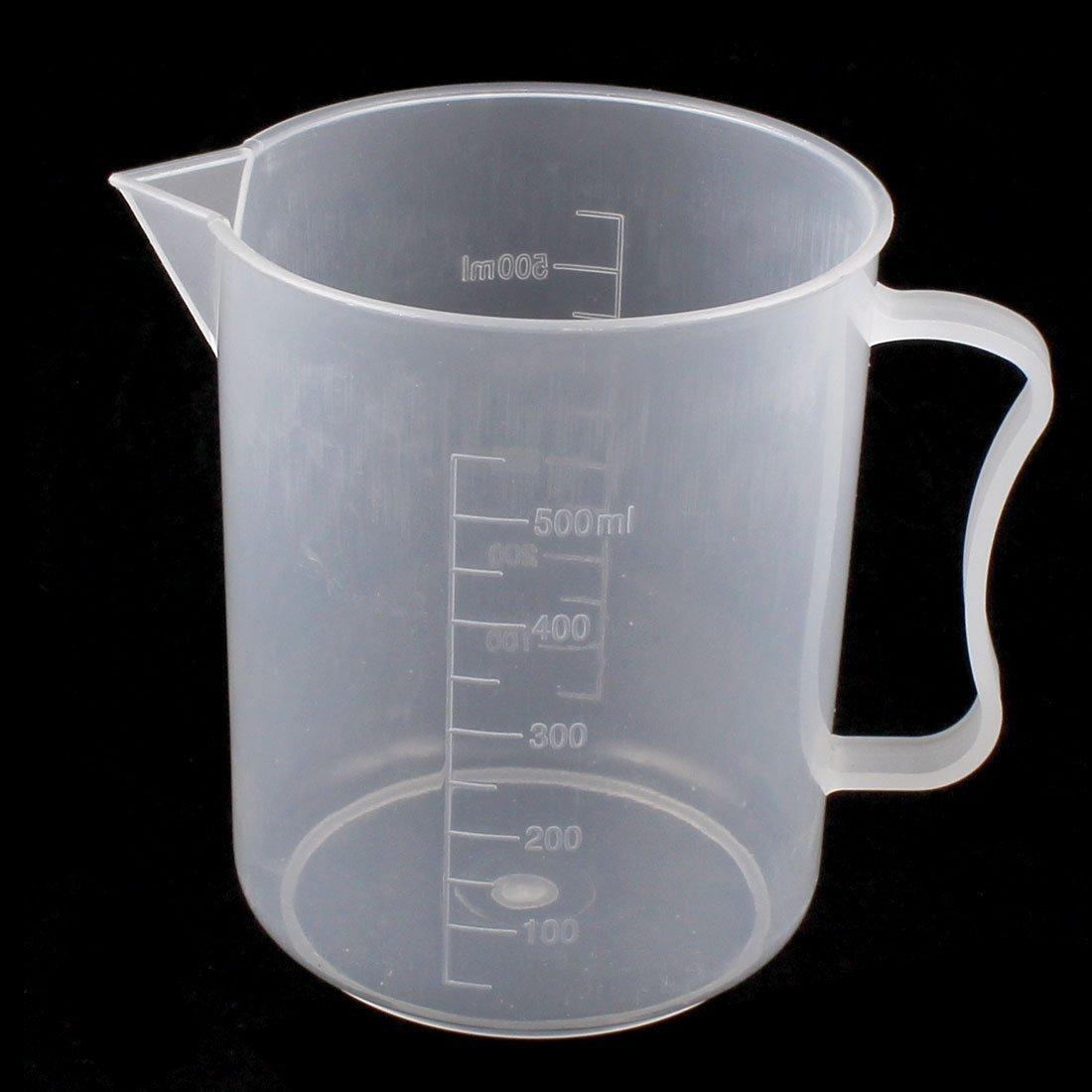 Measuring Cup 500ml Pp Clear Handle By Raffles Kitchen Art.
