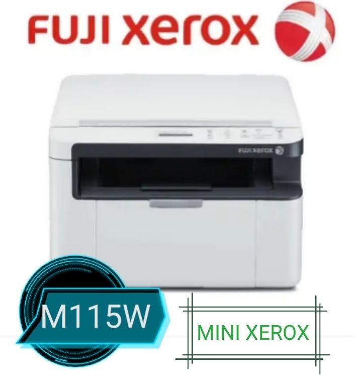 FUJI XEROX M115W MINI COPIER PRINTER SCANNER FUJI