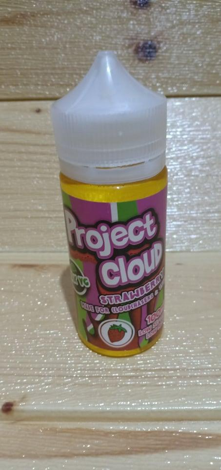 Project Cloud E-Liquid 100ml (STRAWBERRY) For CloudChasers & Trickers