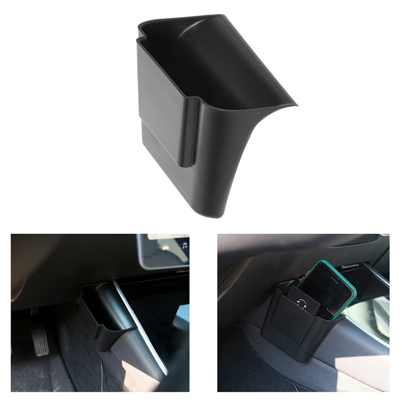 Car Central Console Side Storage Box Organizer Seat Space Storage Box for Tesla Model 3 2017-2020