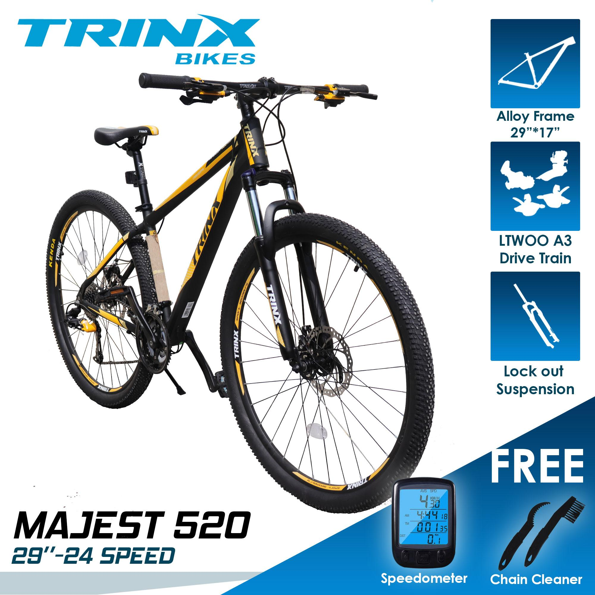 39f9d2d27 TRINX M520 29er- 24 SPEED LTWOO GROUPSET with FREE WIRELESS SPEEDOMETER and  2 in 1