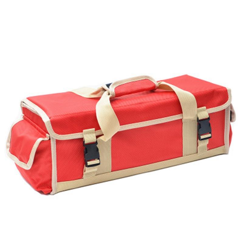 Outdoor Multi-Purpose Camping Ground Nail Bag Portable Folding Sundries Finishing Storage Box Hammer Camp Nail Kit