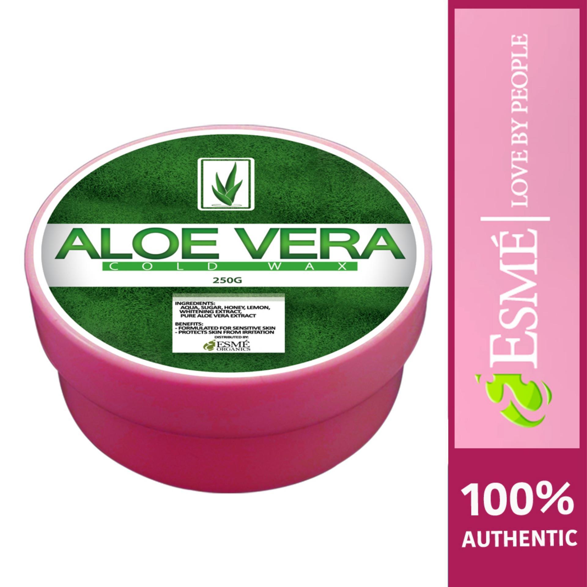 Esme Organic Cold Wax Hair Removal 250g - Aloe Vera By Hong Kong Value Shop.