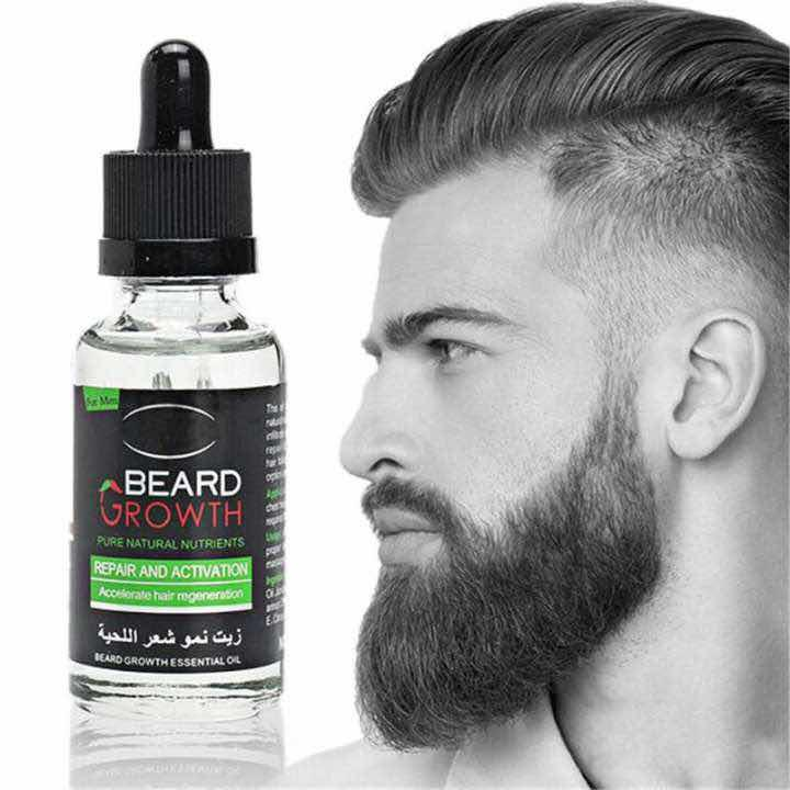 Aichun Men Chest Hair Beard Growth Essential Oil 30ml Liquid Beard Growth Fast Enhance Facial Whiskers Nutritionrepair Growth By Mj Sugar.
