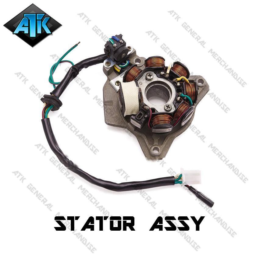 Stator Assy With Plate (TMXCDI)