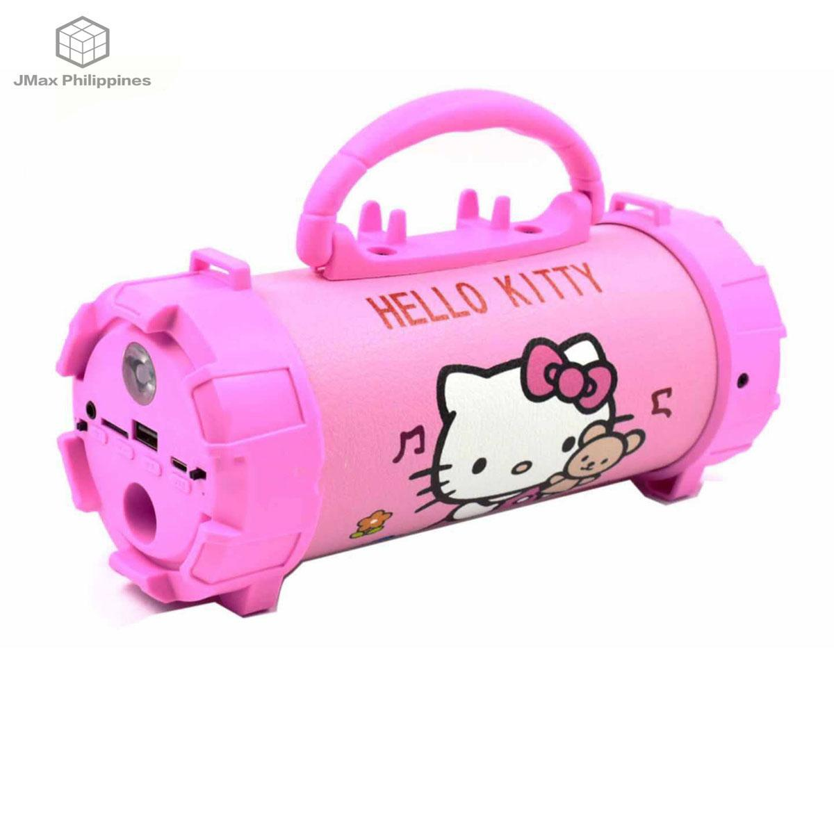 9758e7571 3inches Super Bass Hello Kitty Portable Wireless Bluetooth Speaker(Pink)