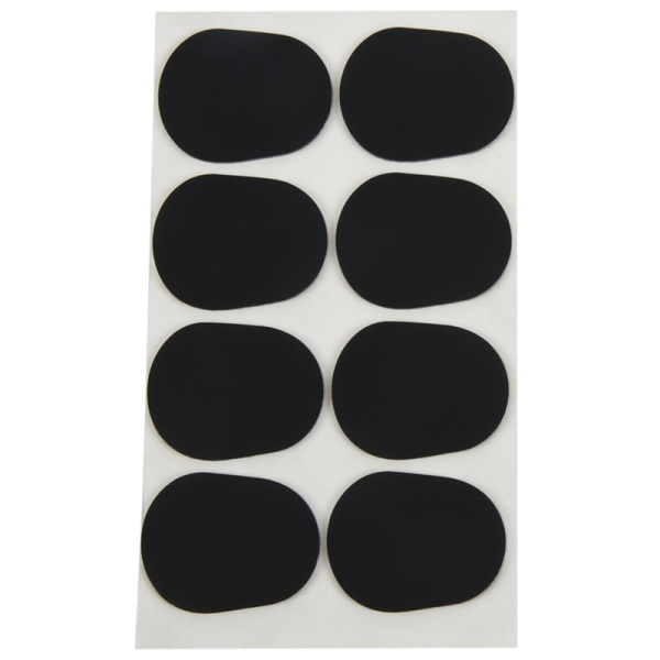 16pcs Alto/tenor Sax Clarinet Mouthpiece Patches Pads Cushions, 0.8mm Black, 16 Pack Malaysia