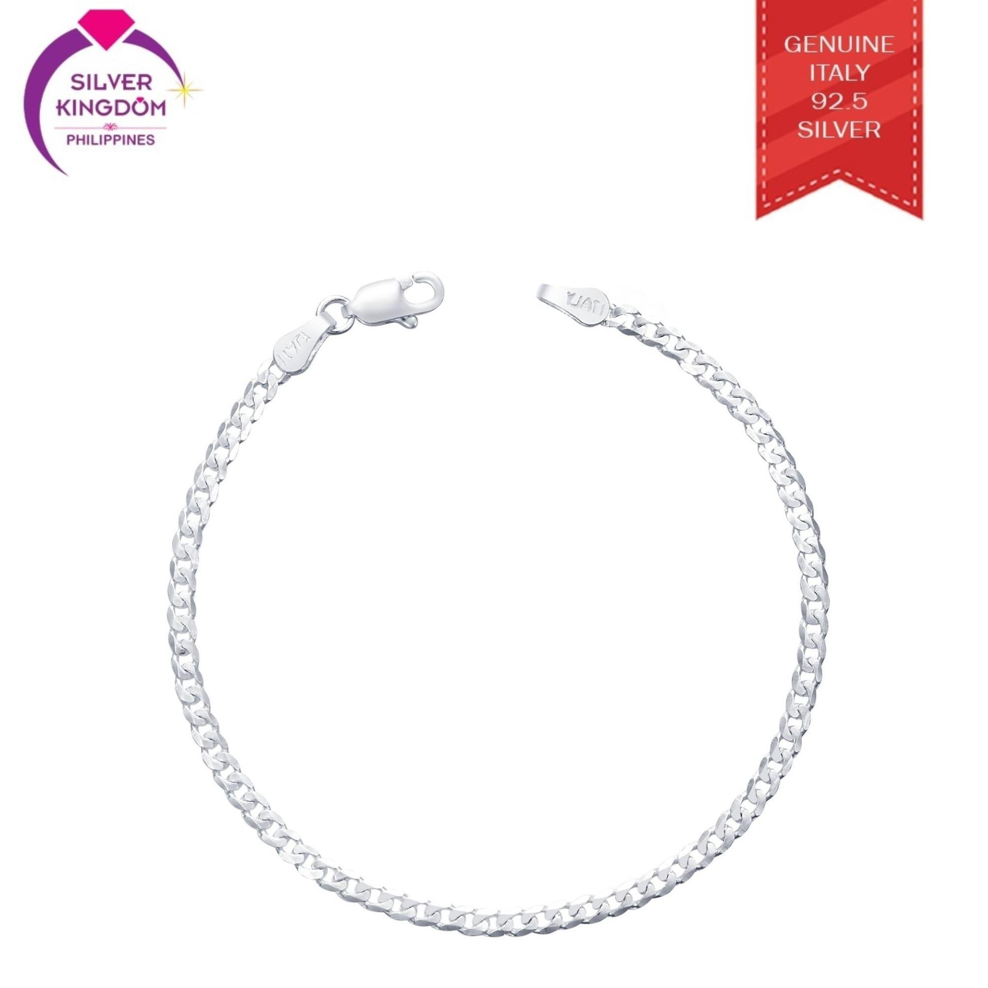 Silver Kingdom 92.5 Italy Silver Kb37 Bracelet For Kids By Silver Kingdom Philippines.