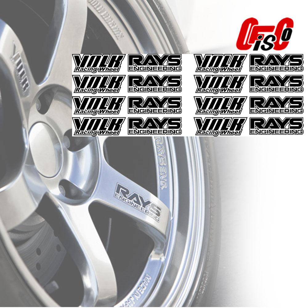 photo about Rays Printable Schedule called Volk Racing Wheel and Rays Know-how Printable Vinyl Sticker 1\