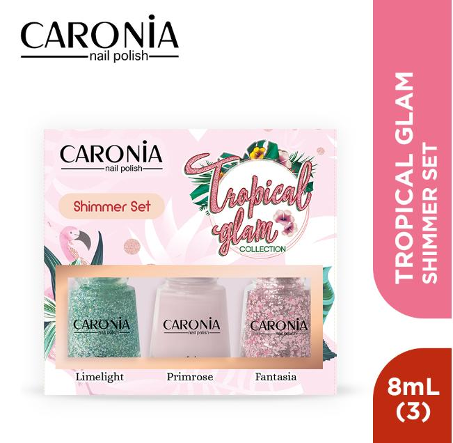 Caronia Tropical Glam Collection - Shimmer Set By Caronia Philippines.