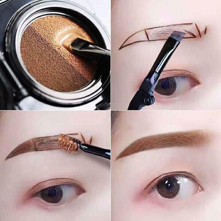 Eyebrow Gel Cushion Two-Tone Waterproof Philippines