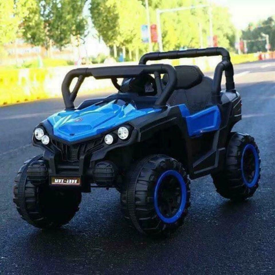 All New ATV MDX-A808 Rubber Tires, Leather Seats Electric Ride On Toy Car  For Kids