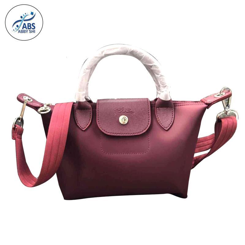 39c95c8cdeec Philippines. Abby Shi  360 LC Ladies Casual Small Composite Bags Leather  Handbag Nylon Handbag (small