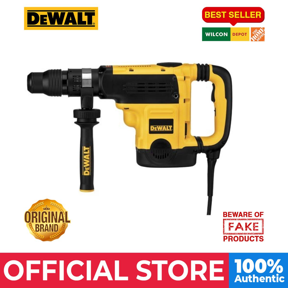 DeWALT SDS Max Rotary Hammer with Shocks (D25721K)