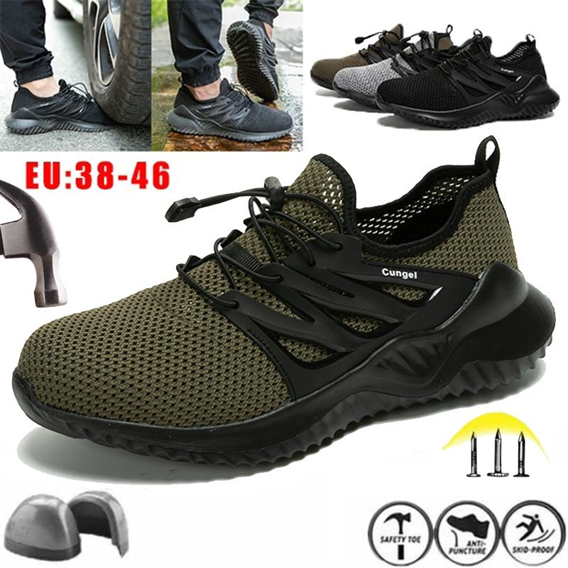 High Cut Safety Shoes Work Boot
