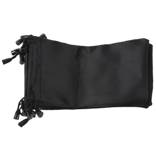 10 Black Sunglasses Eyeglasses Cloth Pouch Bag 7.1x3.5 HOT thumbnail