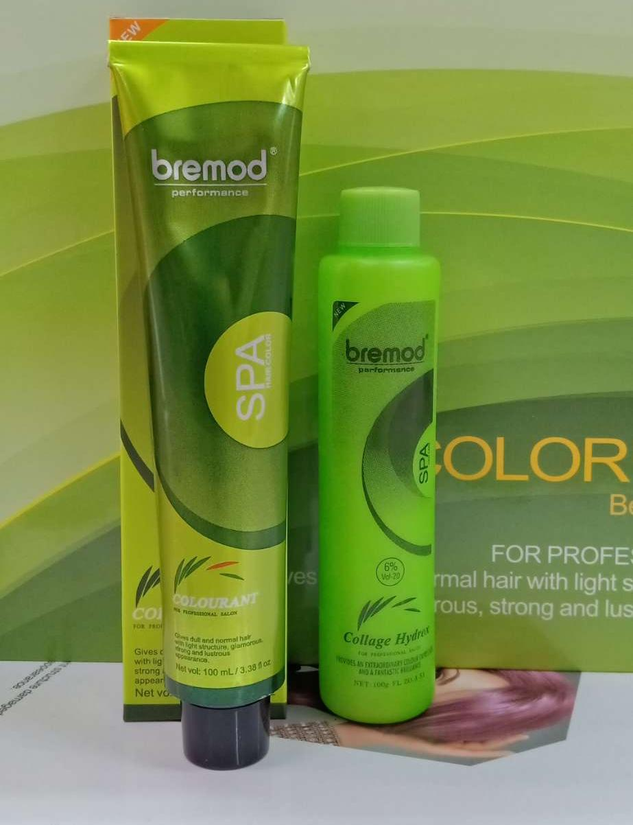Bremod Haircolor With Oxidizing By Salon Supplier.