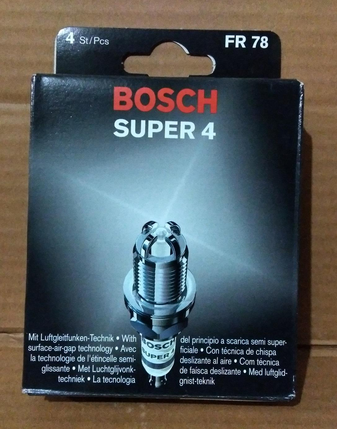 FR78 Super 4 Bosch Spark Plug 4 Tips