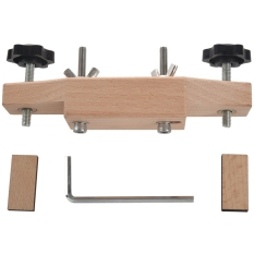 1 Set Solid Maple Stainless Steel Guitar Bridge Install Clamp Luthier Tools Guitar Parts Accessories